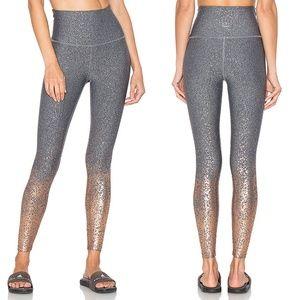 Beyond Yoga Alloy High Waisted Metallic Leggings